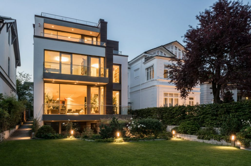 Moderne Stadtvilla Hamburg Ottensen Jk Architektenteam
